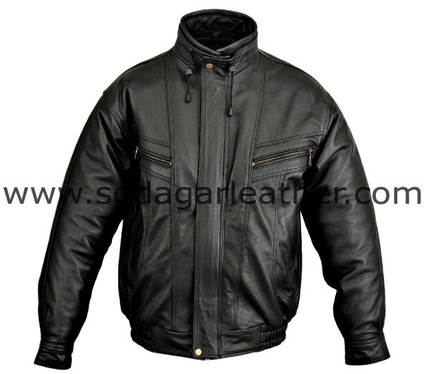 # 2025 MEN FASHION  JACKET WITH BOTTOM STRECTH
